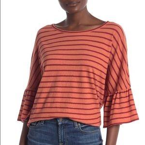 Madewell – Stripe Flare Sleeve Tee